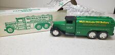 Ertl 1930 Tanker Truck Bank #3538-8680 1-30 Scale Weil-McLain Oil Boiler Die Cas
