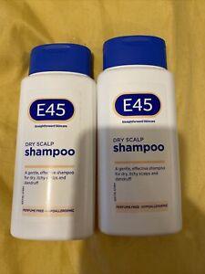 E45 Dry Scalp Shampoo 200ml X 2 Expire Date 9/23