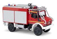 Busch 51053 - 1/87 / H0 Mercedes-Benz Unimog U 5023 Mit Astabweisern - Feuerwehr
