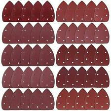 AUSTOR 50 Pieces Mouse Detail Sander Sandpaper Sanding Paper Hook and Loop