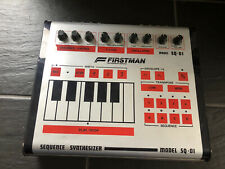 FIRSTMAN / UNIVOX SQ-1 Sequence Synthesizer Analog Bass Line original 80ties
