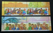 Malaysia Unity 2002 Traditional Costume Musical Instrument (stamp header) MNH