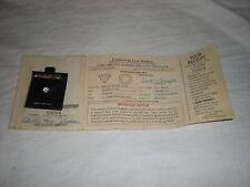 lindenwold fine jewelers cubic zirconia  in original package with paper