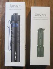 Olight i5T EOS 300 Lumen AND i3UV EOS Flashlight Combo Bundle