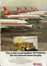 MAS - 1974 - MALAYSIAN AIRLINE SYSTEM - VINTAGE PRINT AD