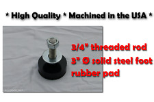 Bridgeport Knee Mill Leveling Feet By The Each Diy Milling Machine Feet Only