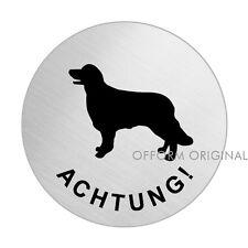 OFFORM Hundewarnschild l Schild l Achtung Golden Retriever l Ø 75 mm l Nr.39298