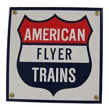 American Flyer Trains Railroad Porcelain Sign #57-1000