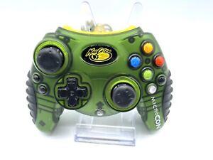 Mad Catz MicroCon Wired Controller for Microsoft Xbox Green Original Xbox