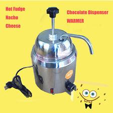 New 110v220v Hot Nacho Fudge Dispenser Warmer Chocolate Cheese Heating Machine