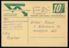 Mayfairstamps Switzerland 1967 St Gallen Modestadt Horse Cancel Stationery Card