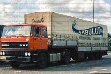 LKW Foto DAF 3300 Schwanenhals Sattelzug Akbulut Türkei 10x15cm/LF293