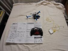 Sky Rover Stalker, 3 Channel IR Gyro Helicopter, Blue NIOB