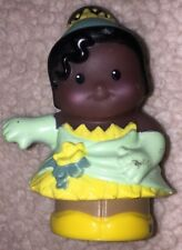 Fisher Price Little People Disney African American Princess Tiana EUC