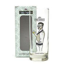 Trois barils brandy lord rufus verre officiel de la marque new boxed limited edition