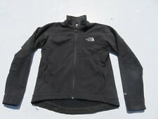 Womens NORTH FACE Black Bionic Apex Soft Shell Zip Sweater Jacket Small