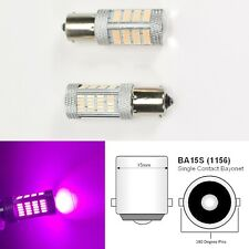 1156 2396 P21W 3497 7506 1141 BA15S 92 LED Purple Rear Signal B1 Euro U