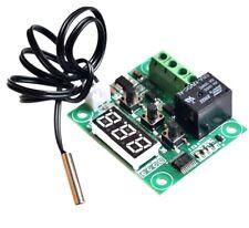 DC 12v regulación de temperatura w1209 mini digital termostato temperatura de tuberías Controller