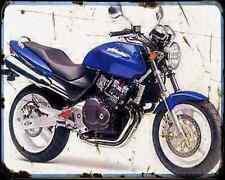 Honda Cb250 Hornet 96 1 A4 Metal Sign Motorbike Vintage Aged