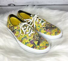 The Beatles X Vans Era Yellow Submarine Garden Canvas Skater Shoes Men's 10