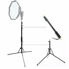"Godox AD-S13 1/4' Male Light Boom Stick Pole + Flash Light Stands 1/4"" Thread"