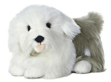 "# New Aurora Miyoni Stuffed Plush Toy Old English Sheepdog Puppy Dog 10"" Soft"