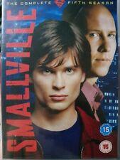 Smallville - The Complete Season 5 [DVD] [2006], Very Good DVD, Tom Welling,John