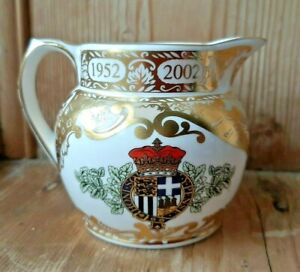 Spode jug to commemorate the Golden Jubilee 2002. Ltd edition 106 of 500