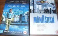Manhattan and Midnight in Paris DVDs Woody Allen
