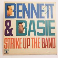 Tony Bennett & Count Basie Strike Up The Band (Roulette R-25231) 1963 LP Jazz