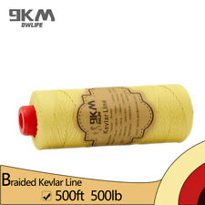 Braided Kevlar Kite Fly Line 500ft 500lbs Cut Resistant Camping Made with Kevlar