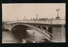 Berkshire Berks READING observers on Bridge c1920/30s? RP PPC