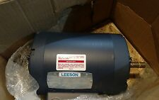 New 113896.00 Leeson Electric Motor 1.5HP 208-230/460V 3 Phase A6T34DR31B