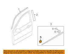 KIA OEM 04-09 Spectra REAR DOOR-Body Side Molding Clip 8775638000
