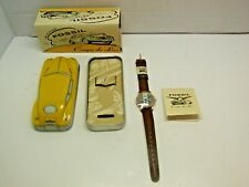 Vintage Fossil Limited Edition Coupe de Lux wrist watch new complete with tin