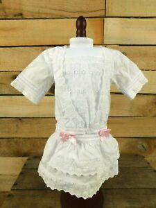 Retired American Girl Rebecca Lace Dress