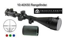 Trinity 10-40x50 AO Tri-Illuminated w/Rings & Base Rail Fits Most Marlin Rifles