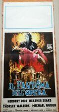 il fantasma dell'opera locandina film poster manifesto Fisher horror Herbert Lom