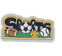BOY SCOUT OFFICIAL COLLECTORS 8 PATCH LOT SPORTS FOOTBALL SOCCER BASEBALL