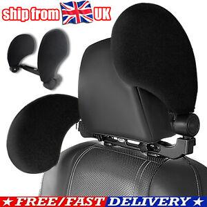 Car Neck Headrest Pillow Head Support Restraint Travel Sleeping Sponge Cushion