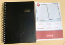 Buchkalender 2021 Kalender A4 Brunnen Spiralbindung 1 Seite = 1 Tag, 1078960901
