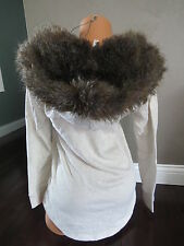 Victorias Secret Faux Fur-lined Hoodie SIZE:SMALL
