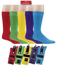 2 Paar Herren-Socken, Trendfarben, Pique-Rand, ohne enges Gummi