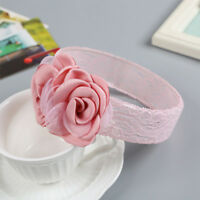 Baby Girl Headband Elastic Hairband Lovely Infants Flower Shape Hair Accessories