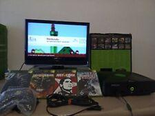Generalüberholte Xbox Classic Konsole mit Emustation + 4 Spiele + Controller
