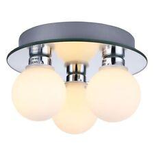 Haysom Interiors Compact 3 Lamp Ip44 Low Energy Halogen Bathroom Ceiling Light