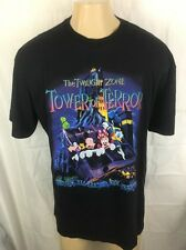 Vintage The Twilight Zone Tower Of Terror Mickey Mouse Disneyland T-Shirts XL