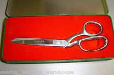 Singer Dressmakers Scissors + Collectors tin, 8 inch, High Quality, Brand New!