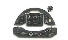 GLADIATOR PHOTOETCHED, COLORED INSTRUMENT PANEL TO EDUARD/RODEN  #4832 1/48 YAHU