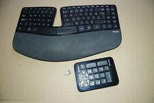 Microsoft Sculpt Ergonomic Desktop Keyboard  and Numeric Pad with Receiver 1559